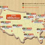 Money Wasted In City Traffic: The 'Social' Cost of Urban Immobility [INFOGRAPHIC]