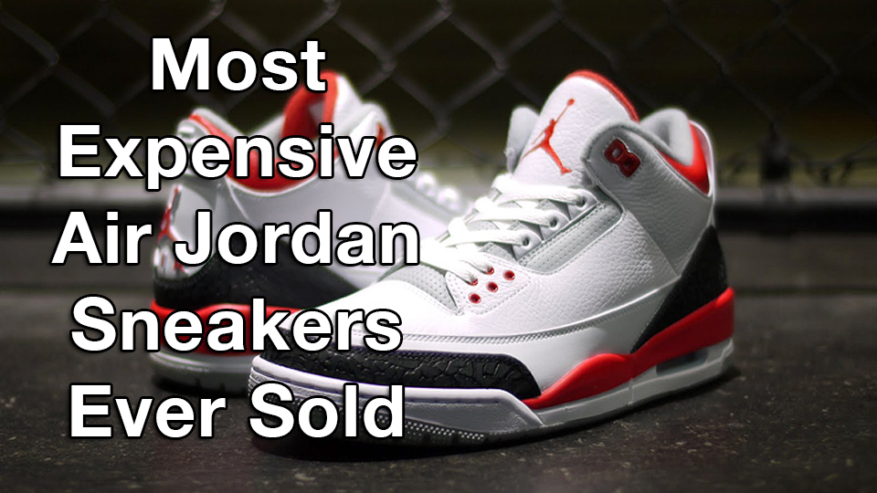 The Most Expensive Jordan Shoe Ever Made