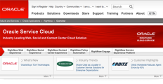 Logo of Oracle Service Cloud