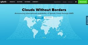 Logo of Splunk Cloud