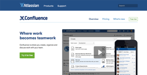 Atlassian Confluence screenshot