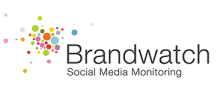 Logo of Brandwatch