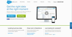 Logo of Salesforce Data.com