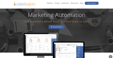 Salesfusion screenshot