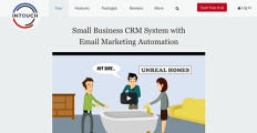 InTouch CRM screenshot