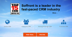 Soffront CRM screenshot