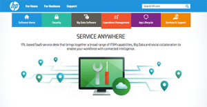 Logo of HP Service Anywhere