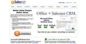 Logo of Salesnet