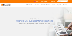 Logo of ShoreTel Sky