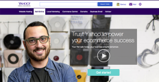 Yahoo Stores screenshot