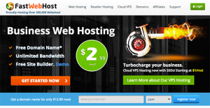Logo of FastWebHost