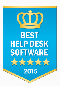 Freshdesk is the winner of our Best Help Desk Software Award for 2015