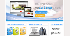VP-Cart screenshot
