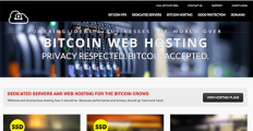 Logo of Bitcoin Web Hosting