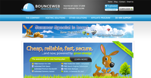 Logo of BounceWeb