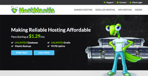 Logo of HostMantis