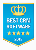 PipelineDeals won our Best CRM Software Award for 2015