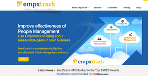 Logo of EmpXtrack