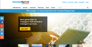 Logo of SuccessFactors