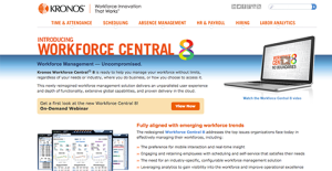 Logo of Kronos Workforce Central