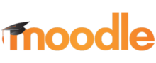 Logo of Moodle