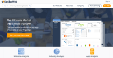 SimilarWeb Pro screenshot