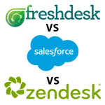 Zendesk vs Salesforce vs Freshdesk: Comparison of Top 3 Help Desk Solutions