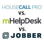 Top 3 Field Service Management Software: Comparison of HouseCall Pro, mHelpDesk, and Jobber