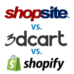 Top 3 Most Popular Shopping Cart Software Services: Comparison of 3dcart, ShopSite and Shopify