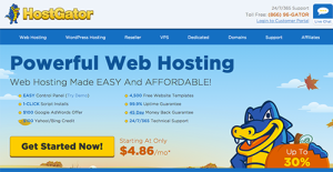 Logo of HostGator