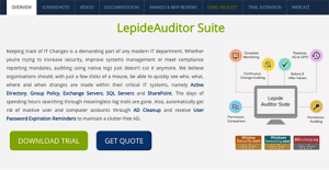 Logo of LepideAuditor Suite