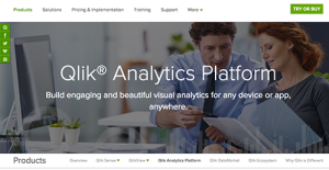 Logo of Qlik Analytics Platform