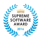 Vision Helpdesk won our Supreme Software Award for 2016