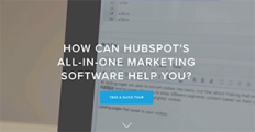 HubSpot screenshot
