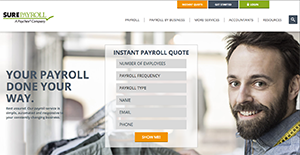 Logo of SurePayroll