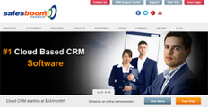 Salesboom CRM screenshot