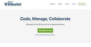 Logo of BitBucket