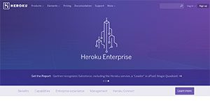 Logo of Heroku Enterprise