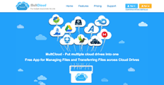 MultCloud screenshot