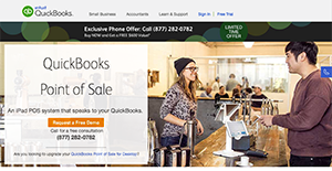 Logo of QuickBooks POS
