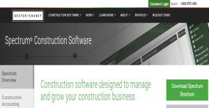 Logo of Spectrum Construction Software