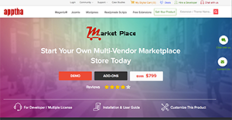 Apptha Marketplace screenshot