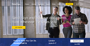 Logo of DocuSign