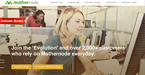 Logo of Mothernode CRM