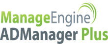 Logo of ManageEngine ADManager Plus