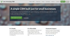 Logo of Less Annoying CRM