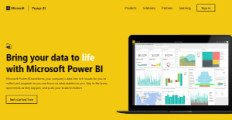 Logo of Microsoft Power BI
