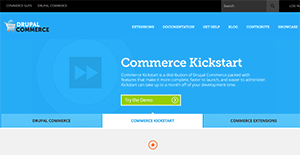 Logo of Drupal Commerce