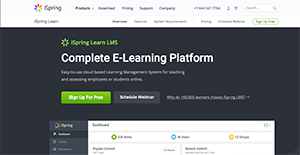Logo of iSpring Learn LMS