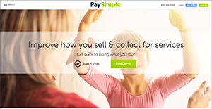 Logo of PaySimple
